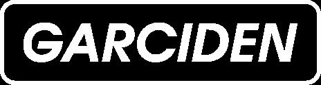 Garciden Logo Blanco